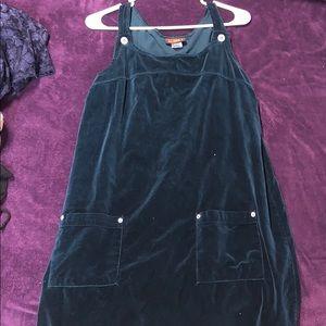 Felt overall dress